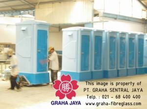 Toilet Flexible Fiberglass Tipe C