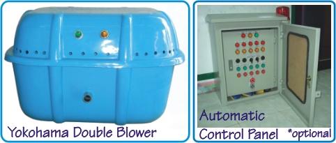 Yokohama Double Blower dan Automatic Control Panel *optional