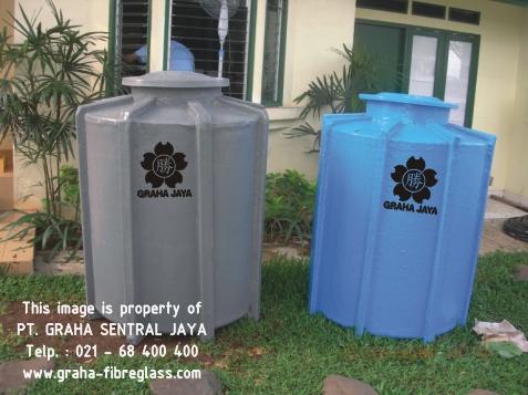 Tangki Air Tanam Ukuran Kecil / Ground Water Tank Fibreglass Kapasitas Kecil