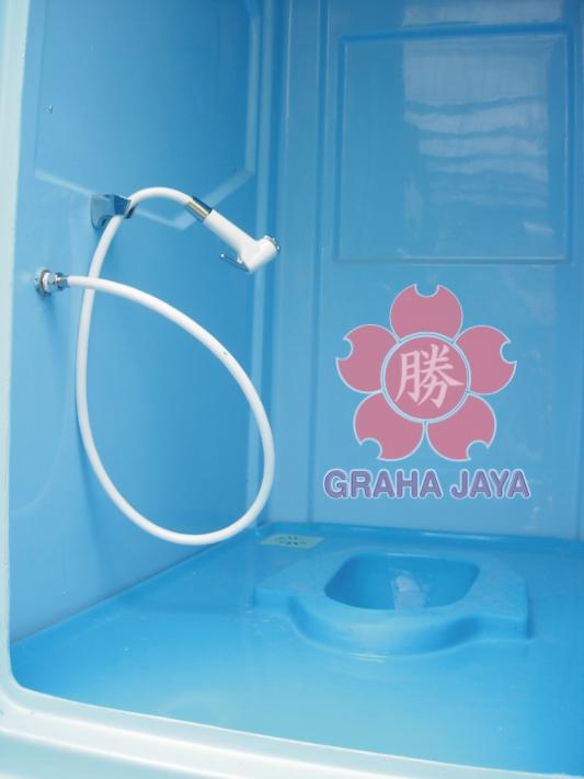 Portable Toilet Exhibition : Toilet portable fibreglass tipe c septic tank biotech