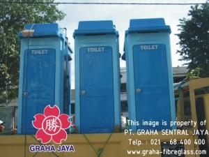 Toilet Portable Fiberglass Tipe B