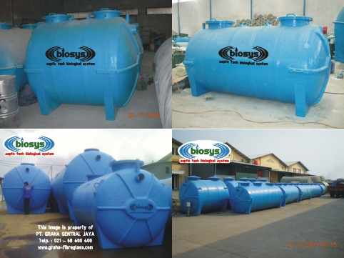 Septic Tank BioFilter Biotech System BCX-Series