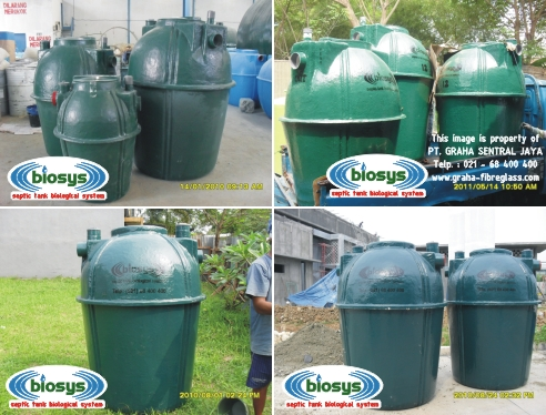 Septic Tank BioFilter Biotech System BS-Series