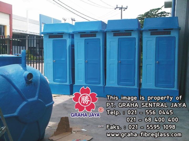 toilet fiberglass tipe a