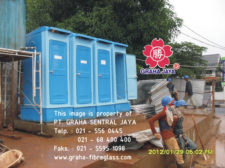 toilet fibreglass tipe c